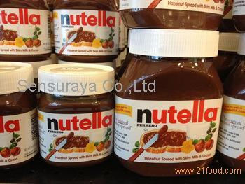 Nutella Chocolate Cream 350g 400g 600g 750g 800g with Multi Language text