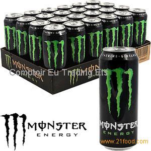 Monster Energy 24 X 500ml Cans Products France Monster