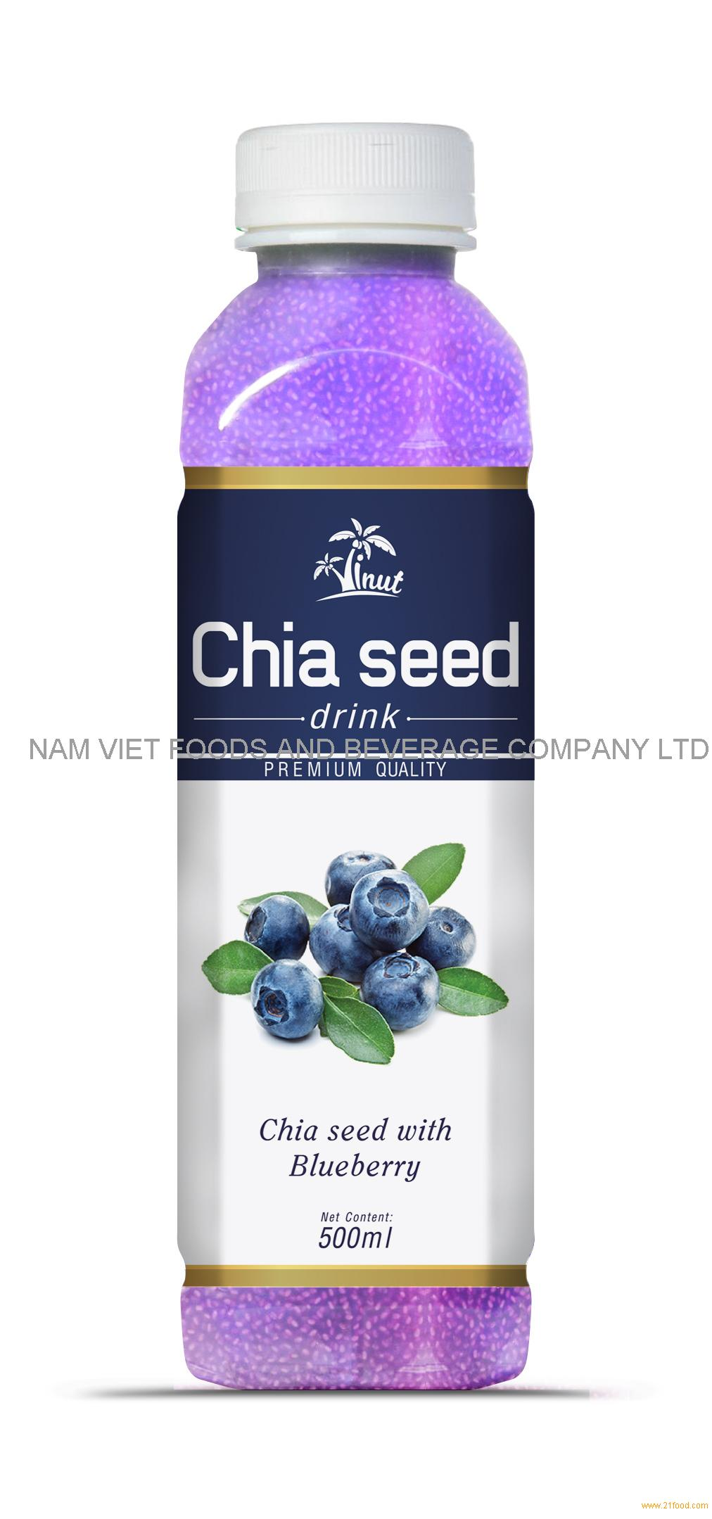 500m Blueberry Chia Seed Drink