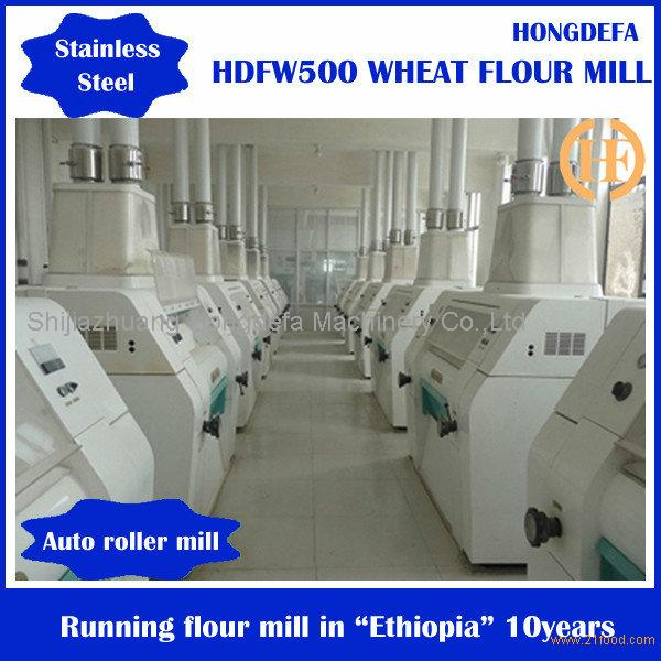 flour milling machine/wheat flour processing milling machine with big or small sacle machinery