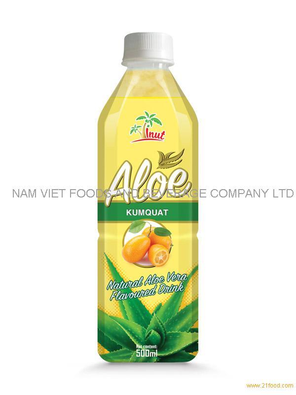 500ml Kumquat Aloe Drink