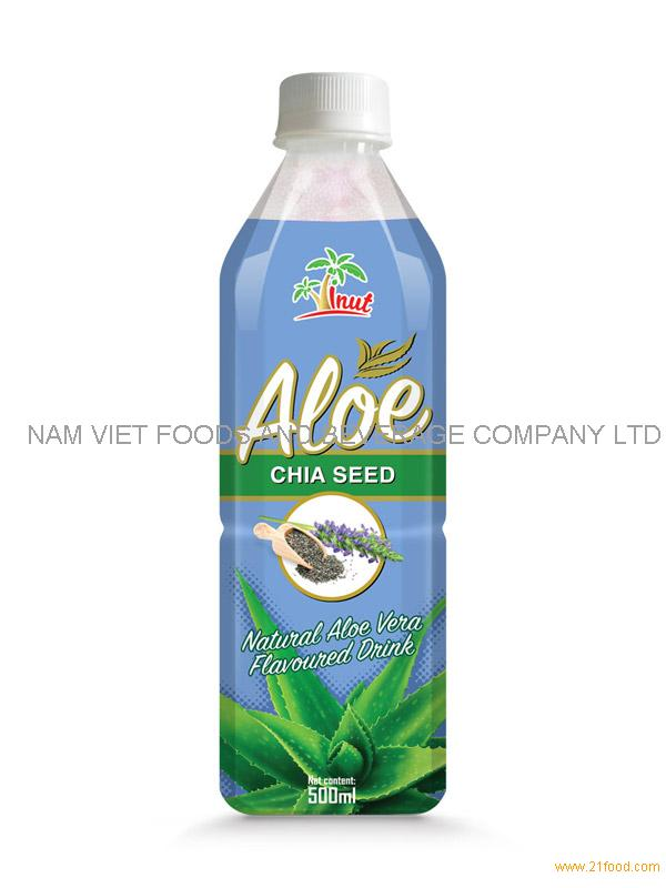 500ml Chia seed Aloe Drink