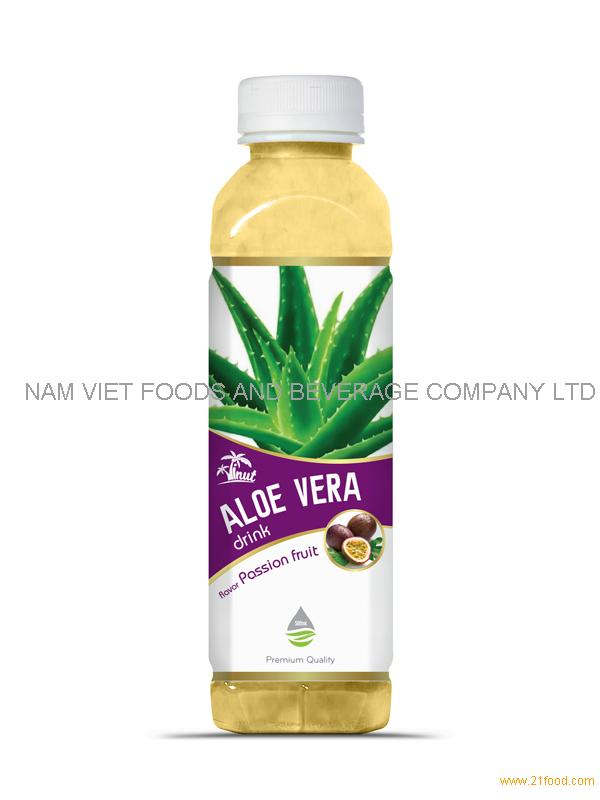 500ml Passion Fruit Aloe Vera