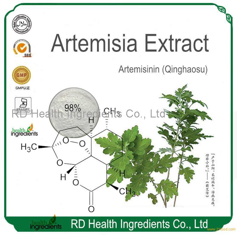 Sweet Wormwood Extract Artemisinin 98%