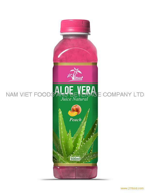 500m Peach Aloe Vera Drink