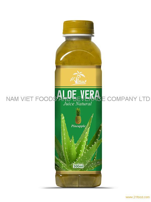 500m Pineapple Aloe Vera Drink