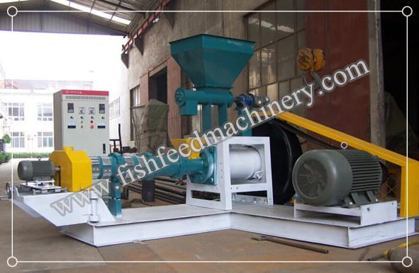 60-80kg/h Dry Type Fish Feed Extruder