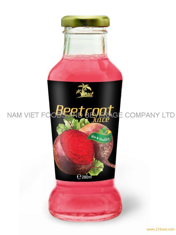 280ml Beetroot Vegetable Juice