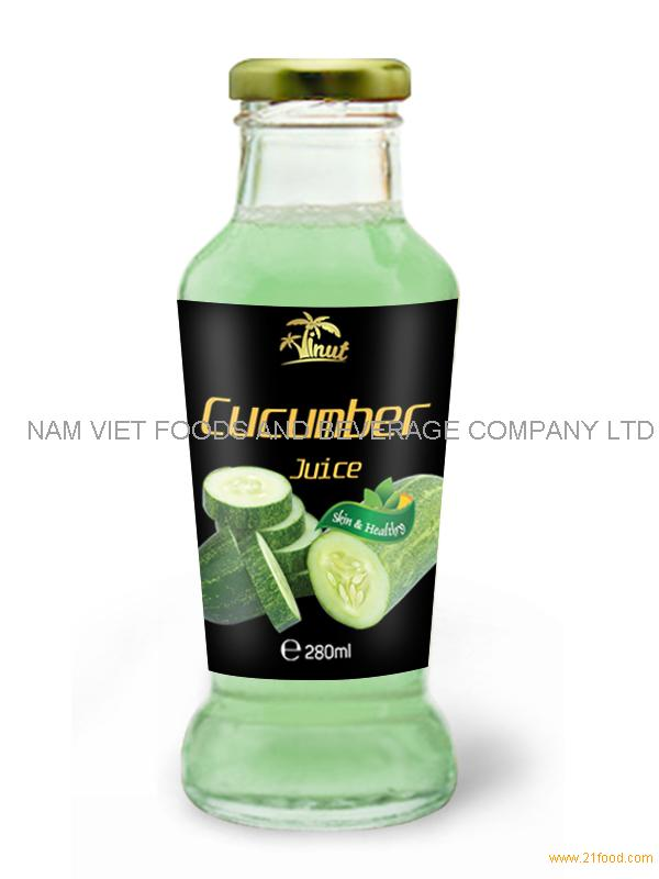 280ml Cucumber Vegetable Juice