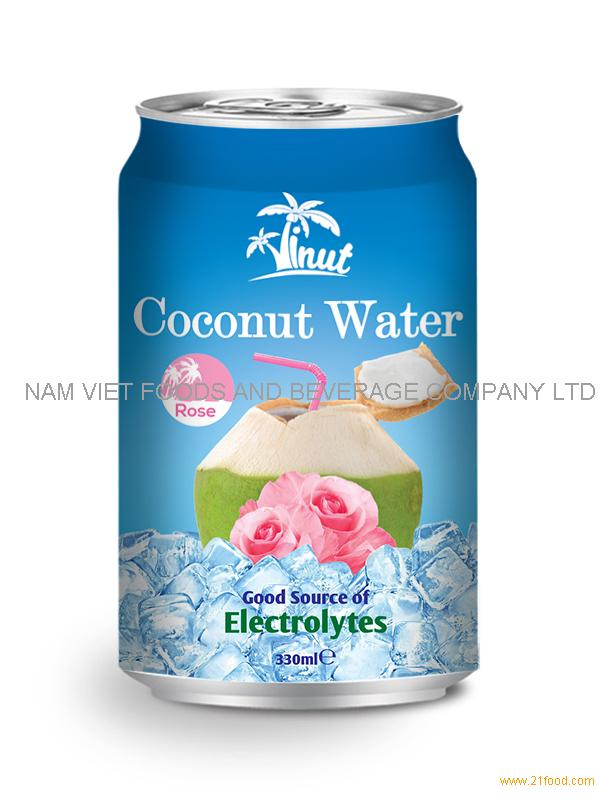 330ml Rose Coconut Water