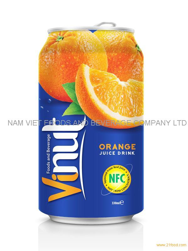 330ml Orange Fruit Juice