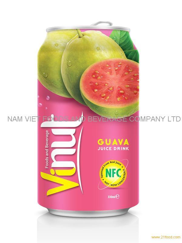 330ml Guava Fruit Juice