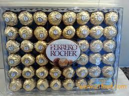 Kinder Chocolate, Snickers, Mars, Bounty Twix, Kitkat, kinder joy & surprice, Nutella, Ferrero Roche