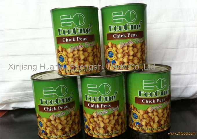 canned chick peas