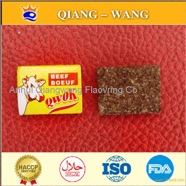 Qwok brand beef broth cube spice cube