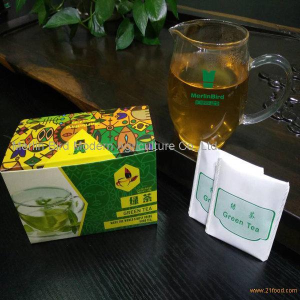 Merlin Bird Brand Special Grade China Green Tea Single Chamber Teabag