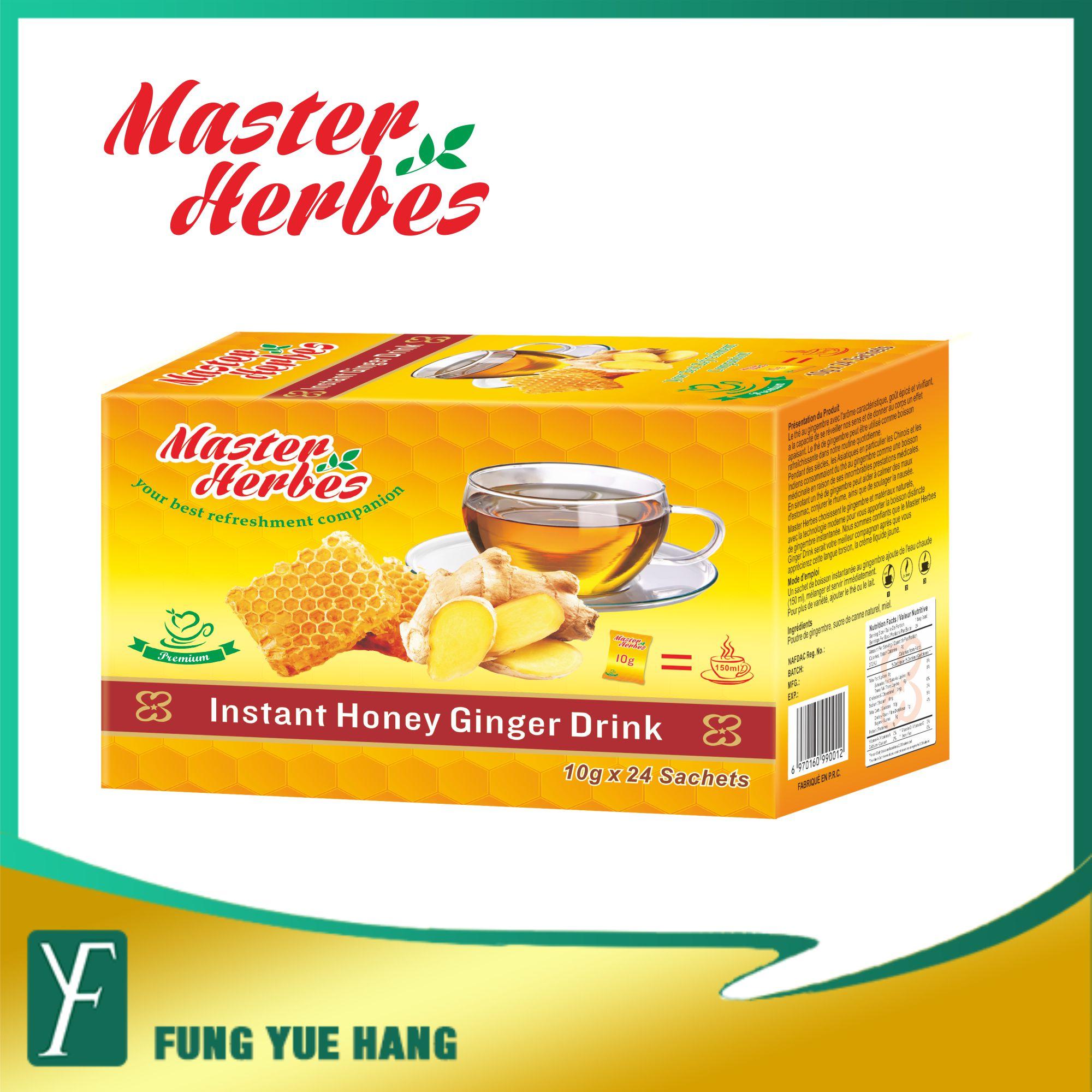 The au gingembre en poudre Miel saveur