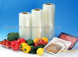 pvc material food packaging film cling film