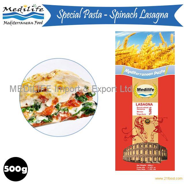 Mediterranean Lasagna, Durum Wheat Semolina, Tunisian Lasagna, Cooking Time 45 min