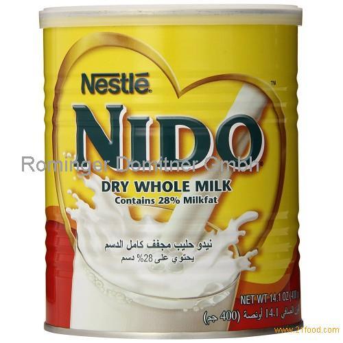 Nestle Nido Full Cream Milk Powder White
