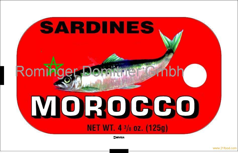Canned sardines in vegetable oil (African Star)