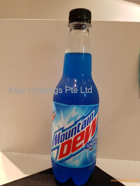 Mountain Dew Blue Shock