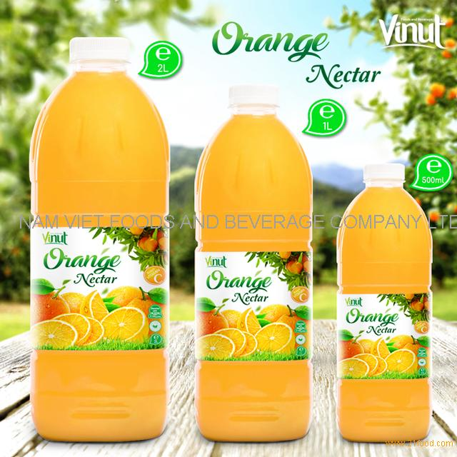 Bottle Orange Juice Drink Nectar