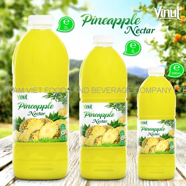 Bottle Pineapple Juice Drink Nectar