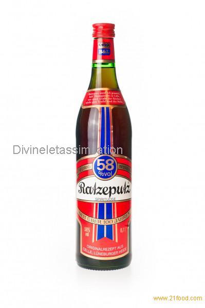 Ratzeputz Ingwer-Schnaps 58% vol