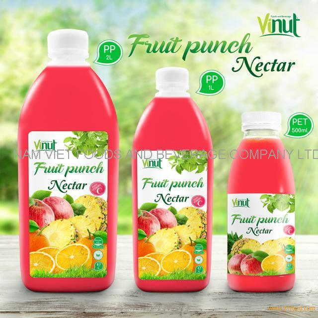 Bottle Fruit Punch Juice Drink Nectar 2 L