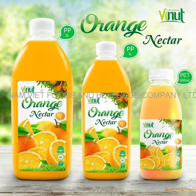 Bottle Orange Juice Drink Nectar 500ml