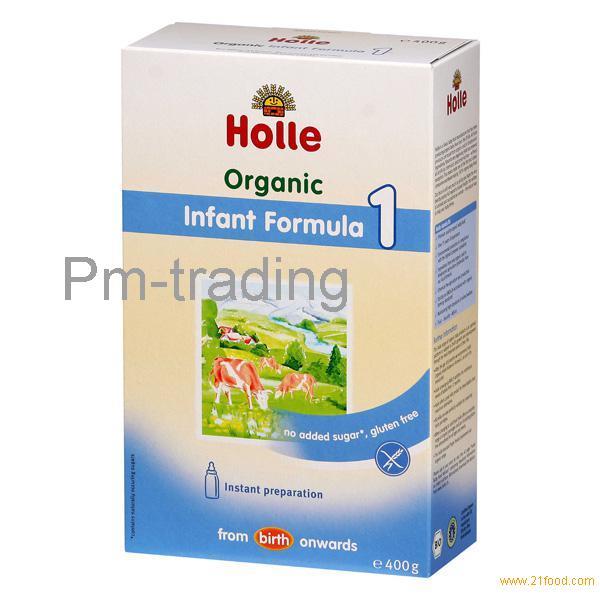 HOLLE ORGANIC BABY MILK FORMULA 1,2,3,4