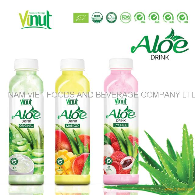 VINUT 500ml original taste health aloe vera juice drink