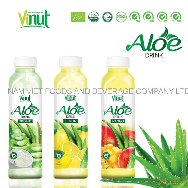 VINUT company With FDA Mango Flavored aloe vera gel drink