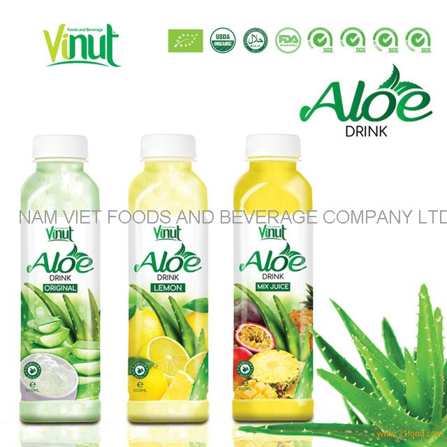 VINUT Original flavored aloe vera juice drinks