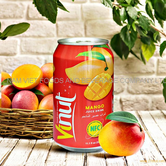 PRIVATE LABE Fruit Juice mango Juice 330ml canned