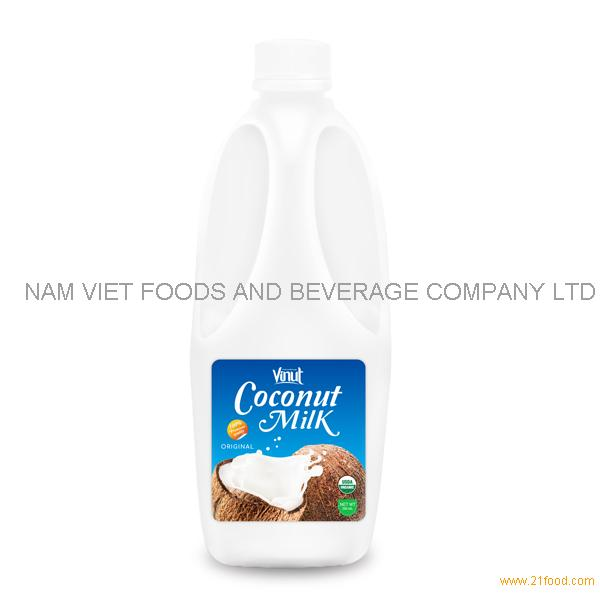 2L Bulk Bottle Organic Coconut Milk