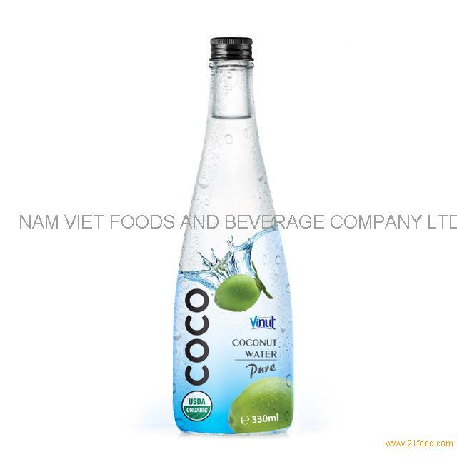 300ml Bottle Coconut water (USDA Organic, EU Organic)