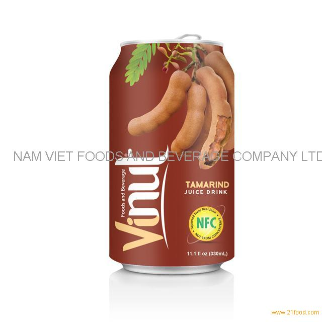 330ml Canned Fruit Juice Tamarind Juice Drink Supplier