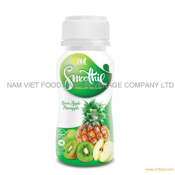 150ml Bottle Smoothie Juice - Kiwi. Apple and Pineapple Juice
