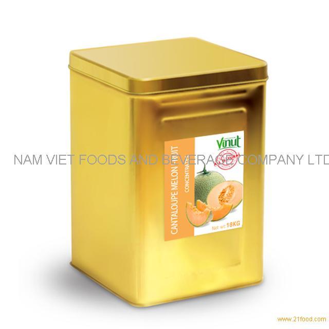 18kg Box Cantaloupe melon Juice Concentrate