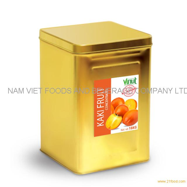 18kg Box Kaki Juice Concentrate