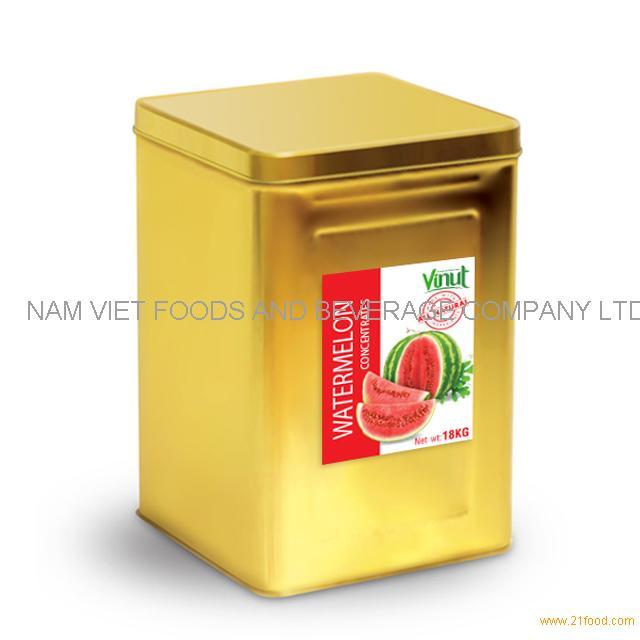 18kg Box Watermelon Juice Concentrate