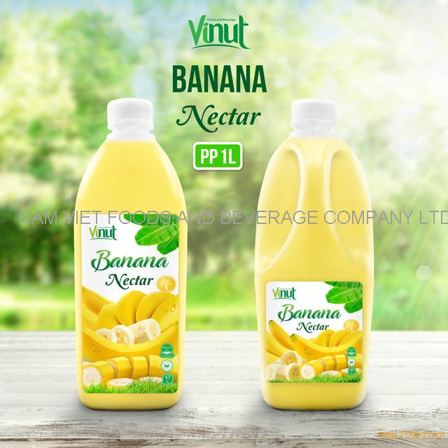 1L Bottle Banana Juice Drink Nectar