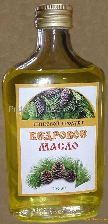 Pine nuts oil from Siberia: $35/L
