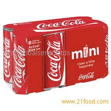 Coca~Cola, Diet-Coke, Coke-Zero, Fanta-and-Sprite Soft Drinks Cans and Bottles