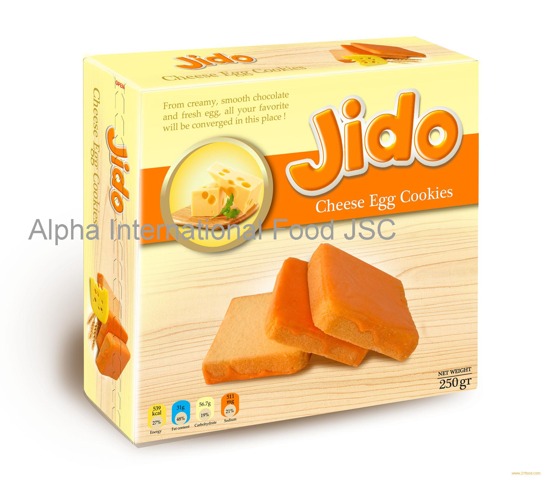 Jido cheese egg cookies 250gr products,Vietnam Jido cheese egg cookies 250gr supplier1800 x 1592 jpeg 223kB