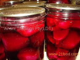 beetroot red for canned fruit coloring