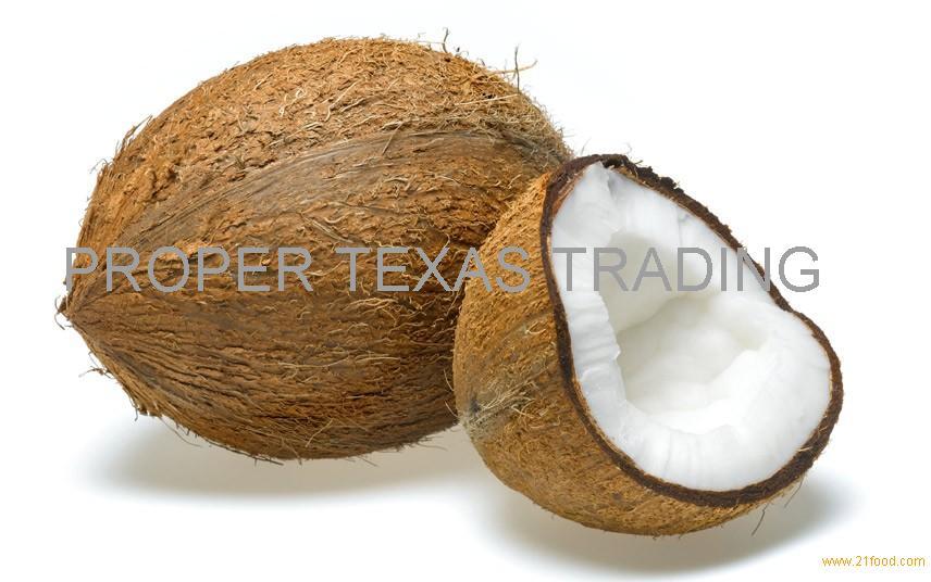 Semi Husked Coconut/ Fresh Husk Coconut origin Malaysia