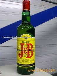 For sale J & B Whisky 750ML
